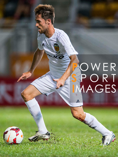 Michel Herrero of Valencia CF in action during LFP World Challenge 2014 between Valencia CF vs BC Rangers FC on May 28, 2014 at the Mongkok Stadium in Hong Kong, China. Photo by Victor Fraile / Power Sport Images