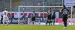 Kevin Behrens (SV Sandhausen, Nr. 16) verwandelt den Elfmeter - 1:0 für den SV Sandhausen beim Spiel in der 2. Bundesliga, SV Sandhausen - Wuerzburger Kickers.<br /> <br /> Foto © PIX-Sportfotos *** Foto ist honorarpflichtig! *** Auf Anfrage in hoeherer Qualitaet/Aufloesung. Belegexemplar erbeten. Veroeffentlichung ausschliesslich fuer journalistisch-publizistische Zwecke. For editorial use only. For editorial use only. DFL regulations prohibit any use of photographs as image sequences and/or quasi-video.