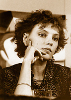 File Photo, Montreal (Quebec) Canada<br /> <br /> Anne Letourneau at the 1985  World Film Festival in Montreal<br /> <br /> Photo by : Pierre Roussel / Images Distribution