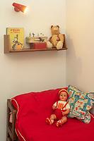 """Europe/France/Normandie/76/Seine Maritime/ Le Havre : L'appartement témoin Perret  - Chambre """"d Enfants //  Europe / France / Normandy / 76 / Seine Maritime / Le Havre: The Perret model apartment - Children's bedroom"""