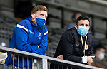 St Johnstone v St Mirren……29.08.20   McDiarmid Park  SPFL<br />Suspended duo, St johnstone's Liam Craig and St Mirren's Joe Shaughnessy<br />Picture by Graeme Hart.<br />Copyright Perthshire Picture Agency<br />Tel: 01738 623350  Mobile: 07990 594431