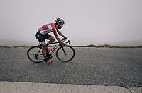 Thomas de Gendt (BEL/Lotto-Soudal) descending the Port de Balès (HC/1755m/11.7km/7.7%)<br /> <br /> 104th Tour de France 2017<br /> Stage 12 - Pau › Peyragudes (214km)