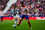 Felipe Augusto de Almeida of Atletico de Madrid during La Liga match between Atletico de Madrid and RCD Espanyol at Wanda Metropolitano Stadium in Madrid, Spain. November 10, 2019. (ALTERPHOTOS/A. Perez Meca)