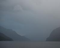 Moods of Doubtful Sound at dusk, Fiordland National Park, UNESCO World Heritage Area, Southland, New Zealand, NZ