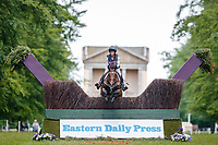 GBR-Rosalind Canter rides Shannondale Nadia during the Cross Country for the CCI-L 3* Section B. Interim-1st. 2021 GBR-Saracen Horse Feeds Houghton International Horse Trials. Hougton Hall. Norfolk. England. Saturday 29 May 2021. Copyright Photo: Libby Law Photography
