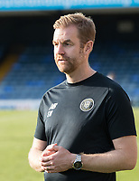Simon Weaver, Manager, Harrogate Town,  gives his thoughts post match during Southend United vs Harrogate Town, Sky Bet EFL League 2 Football at Roots Hall on 12th September 2020