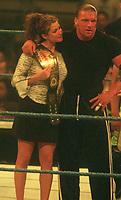 Stephanie McMahon & Triple HHH 2000<br /> Photo By John Barrett/PHOTOlink