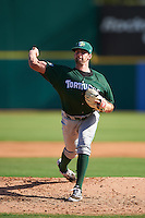 Daytona Tortugas starting pitcher Tejay Antone (25) during a game against the Brevard County Manatees on August 14, 2016 at Space Coast Stadium in Viera, Florida.  Daytona defeated Brevard County 9-3.  (Mike Janes/Four Seam Images)