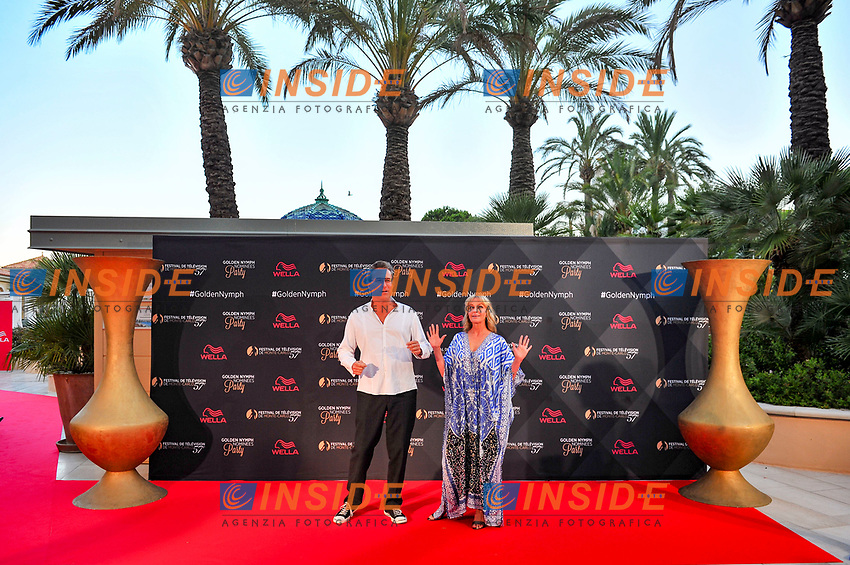 Bo Derek - John Corbett<br /> Monaco - 20/06/2017<br /> 57 festival TV Monte Carlo <br /> Foto Norbert Scanella / Panoramic / Insidefoto