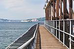 Harbor Boardwalk, Terminal 105, Jack Block Park, Elliott Bay, Seattle, Washington, USA