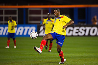 Jairo Campos (23) of Ecuador. Ecuador defeated Chile 3-0 during an international friendly at Citi Field in Flushing, NY, on August 15, 2012.