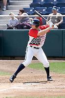 July 6, 2008: The Everett AquaSox's Dennis Raben at-bat during a Northwest League game against the Yakima Bears at Everett Memorial Stadium in Everett, Washington.
