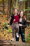 Sarina and Family<br /> at Pocantico Lake<br /> Bet Torah Bat Mitzvah Portraits