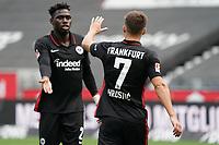Torjubel beim 2:1 Ajdin Hrustic (Eintracht Frankfurt), Danny da Costa (Eintracht Frankfurt)<br /> <br /> - 24.07.2021 Fussball 1. Bundesliga, Saison 21/22, Freundschaftsspiel, SG Eintracht Frankfurt vs. Racing Straßburg, Deutsche Bank Park, emonline, emspor, <br /> <br /> Foto: Marc Schueler/Sportpics.de<br /> Nur für journalistische Zwecke. Only for editorial use. (DFL/DFB REGULATIONS PROHIBIT ANY USE OF PHOTOGRAPHS as IMAGE SEQUENCES and/or QUASI-VIDEO)