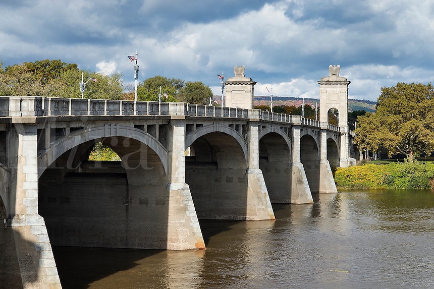 Market Street Bridge, Wilkes-Barre, Pennsylvania, USA