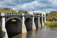 Market Street Bridge, Wilkes-Barre, Pennsylvania, USA