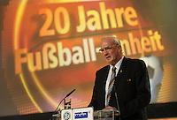 Jubiläumsgala 20 JAHRE FUSSBALL EINHEIT - Congresscenter Leipzig - DFB  - im Bild: Hans-Georg Moldenhauer .Foto: Norman Rembarz .