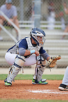 Christian Lopez (77) during the WWBA World Championship at the Roger Dean Complex on October 12, 2019 in Jupiter, Florida.  Christian Lopez attends  High School in San Lorenzo, PR and is Uncommitted.  (Mike Janes/Four Seam Images)