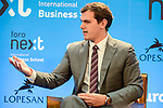 Albert Rivera during the informative breakfast organized by IESE Business School in Madrid. November 08, 2016. (ALTERPHOTOS/Borja B.Hojas)