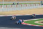 FIM CEV REPSOL in Navarra during the Spanish Championship 2014.<br /> Los Arcos, navarra, spain<br /> September 07, 2014. <br /> Moto3<br /> maria herrera<br /> jorge navarro<br /> PHOTOCALL3000/ RME