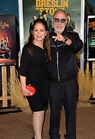"LOS ANGELES, USA. October 11, 2019: Gloria Estefan & Emilio Estefan at the premiere of ""Zombieland: Double Tap"" at the Regency Village Theatre.<br /> Picture: Paul Smith/Featureflash"