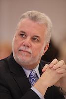 Quebec Premier Philippe Couillard speak at Montreal Metropolitan Board of Trade, March 11, 2016.<br /> <br /> PHOTO : Pierre Roussel - Agence Quebec Presse