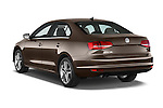 Car pictures of rear three quarter view of a 2015 Volkswagen Jetta 2.5L SEL 4 Door Sedan Angular Rear