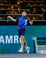 Rotterdam, The Netherlands, 11 Februari 2020, ABNAMRO World Tennis Tournament, Ahoy, <br /> Tallon Griekspoor (NED)<br /> Photo: www.tennisimages.com
