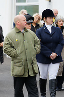 """Pictured: Mourners arrive at Aberavon Beach Hotel in Port Talbot, Wales, UK. Monday 08 October 218<br /> Re: A grieving father will mourners on horseback at the funeral of his """"wonderful"""" son who killed himself after being bullied at school.<br /> Talented young horse rider Bradley John, 14, was found hanged in the school toilets by his younger sister Danielle.<br /> Their father, farmer Byron John, 53, asked the local riding community to wear their smart hunting gear at Bradley's funeral.<br /> Police are investigating Bradley's death at the 500-pupils St John Lloyd Roman Catholic school in Llanelli, South Wales.<br /> Bradley's family claim he had been bullied for two years after being diagnosed with Attention Deficit Hyperactivity Disorder.<br /> He went missing during lessons and was found in the toilet cubicle by his sister Danielle, 12."""