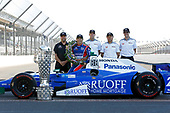 Verizon IndyCar Series<br /> Indianapolis 500 Winner Portrait<br /> Indianapolis Motor Speedway, Indianapolis, IN USA<br /> Monday 29 May 2017<br /> Takuma Soto poses for the 500 winner photos<br /> World Copyright: Phillip Abbott<br /> LAT Images<br /> ref: Digital Image abbott_indyD_0517_35372