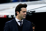 Real Madrid's coach Santiago Solari during Copa del Rey match between Real Madrid and Girona FC at Santiago Bernabeu Stadium in Madrid, Spain. January 24, 2019. (ALTERPHOTOS/A. Perez Meca)