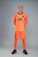 14th October 2020, Paris, France; Official League 1 player portrait for Paris Saint Germain;  NAVAS Keylor