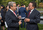 """Presentation of Gift entitled """"Consciousness"""" from Mongolia to the United Nations<br /> <br /> Remarks by the Secretary-General"""