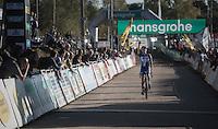 victory for Sanne Cant (BEL/Enertherm-Beobank)<br /> <br /> CX Superprestige Zonhoven 2016