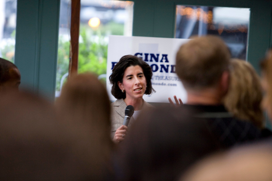 The official campaign launch party of the Gina Raimondo for Rhode Island General Treasurer draws a diverse crowd.  The broad support that Raimondo creates will result with her receiving the largest number of votes for any candidate running for office in Rhode Island during the election year.