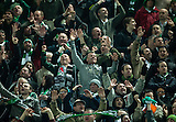 06.03.2013  Juventus v Celtic, UEFA Champions League round of the last 16 second leg  ...................    CELTIC FANS SING FOR TEN IN  A ROW