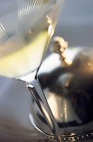 """Amérique/Amérique du Nord/USA/Etats-Unis/Vallée du Delaware/Pennsylvanie/Philadelphie : Service du vin au restaurant de Georges Perrier """"Le Bec Fin"""" 1523 Walnut Street"""