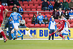 St Johnstone v Aberdeen…15.04.17     SPFL    McDiarmid Park<br />Ryan Christie scores Aberdeen's first goal<br />Picture by Graeme Hart.<br />Copyright Perthshire Picture Agency<br />Tel: 01738 623350  Mobile: 07990 594431