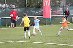 McDonald's Community Football Day<br /> Cambrian Lakeside Sports Academy-Tonypandy<br /> 29.08.15<br /> ©Steve Pope - SPORTINGWALES