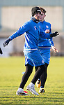 St Johnstone Training….27.12.16<br />Chris Millar pictured in training this morning at McDiarmid Park ahead of tomorrow's game against Rangers<br />Picture by Graeme Hart.<br />Copyright Perthshire Picture Agency<br />Tel: 01738 623350  Mobile: 07990 594431
