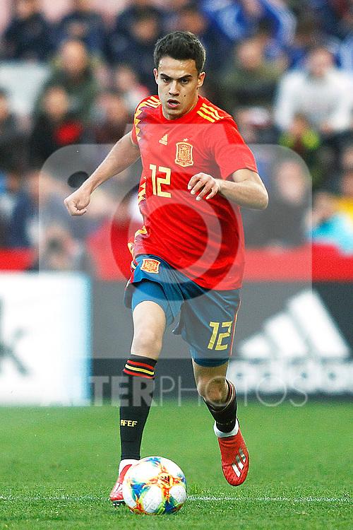 Spain's Sergio Reguilon   during the International Friendly match on 21th March, 2019 in Granada, Spain. (ALTERPHOTOS/Alconada)