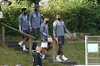 Spieler kommen zum Training - 31.08.2020: Erstes Training der Deutschen Nationalmannschaft vor dem Nations League gegen Spanien, ADM Sportpark Stuttgart