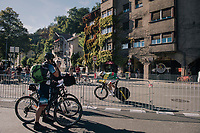 Gediminas Bagdonas (LTU/AG2R-LaMondiale)<br /> <br /> MEN ELITE INDIVIDUAL TIME TRIAL<br /> Hall-Wattens to Innsbruck: 52.5 km<br /> <br /> UCI 2018 Road World Championships<br /> Innsbruck - Tirol / Austria
