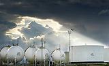 Planta de gas de Petrobras en Santa Cruz de la Sierra, Bolivia.