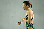 Sayaka Shibusawa,<br /> SEPTEMBER 18, 2015 - Diving : <br /> All Japan Diving Championship 2015<br /> Women's 3m Springboard Preliminary<br /> at Tatsumi International Swimming Center, Tokyo, Japan.<br /> (Photo by Shingo Ito/AFLO SPORT)