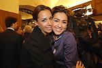 ANNA KANAKIS CON CATERINA BALIVO<br /> APERTURA STORE FAY A FONTANELLA BORGHESE ROMA 10/2008