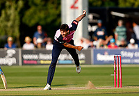 Steven Finn bowls for Middlesex during Kent Spitfires vs Middlesex, Vitality Blast T20 Cricket at The Spitfire Ground on 11th June 2021