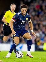 4th September 2021; Hampden Park, Glasgow, Scotland: FIFA World Cup 2022 qualification football, Scotland versus Moldova: Che Adams of Scotland