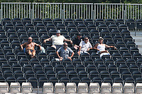 Spectators enjoy the sunshine during Hampshire Hawks vs Essex Eagles, Royal London One-Day Cup Cricket at The Ageas Bowl on 22nd July 2021