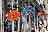 Shop signs Montreal